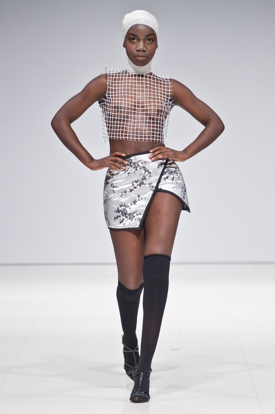 JON RIOSA, WOMENWEAR, TORONTO, ONTARIO, CANADA, OCAD, OCAD UNIVERSITY, ALUMNI, FAT, FASHION ART TORONTO, 2015, REGENT PARK, DANIELS SPECTRUM, DEBUT, SHOW RUNWAY, FASHION, ART, DESIGN, FAT 2015