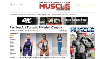 jon riosa, muscle memory magazine, toronto, canada, genesis, fashion art toronto, 2015, womenswear