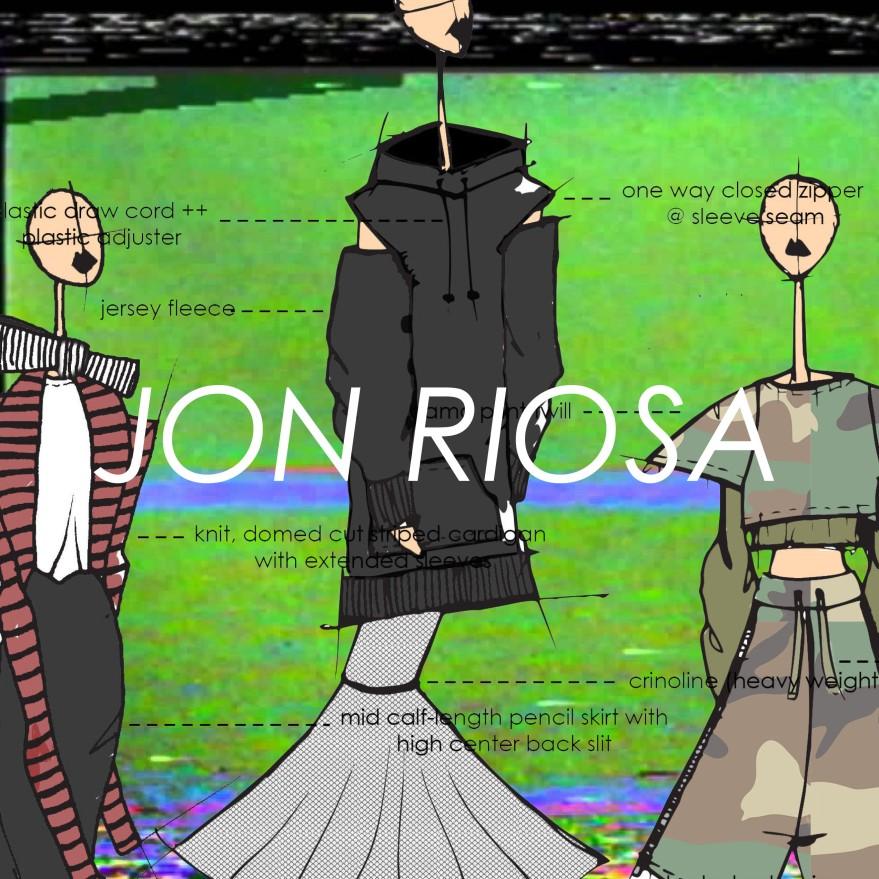 JON RIOSA, VEIL, 2017, TORONTO, CANADA, WOMENSWEAR, PROMO